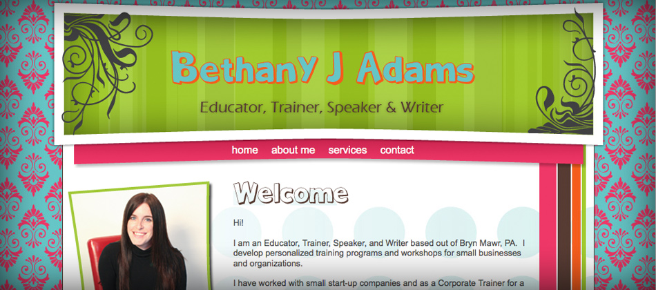 Bethany J Adams